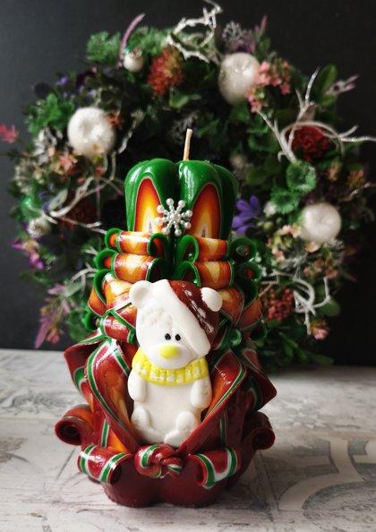 """14см расцветка """"Christmas"""""""