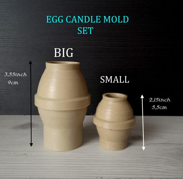"""Пластиковая форма для свечей """"Яйцо"""""""